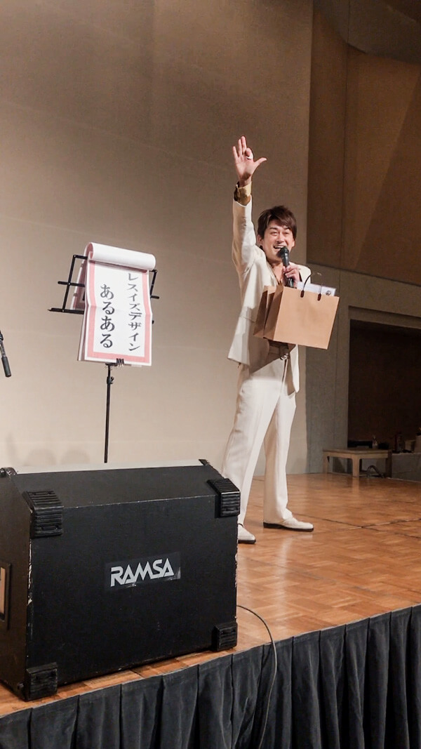 AMEMIYAネタライブ-Less is design決算パーティー